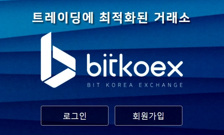 bitkoex korean exchange