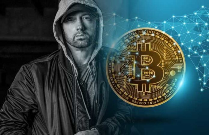 Entertainment Frenzy as Bitcoin Gets a Mention on Eminem's New Album