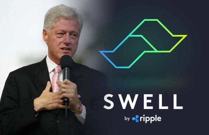 SWELL 2018: Bill Clinton Endorses Crypto and Blockchain Technology; Warns Lawmakers against Stiff Regulations