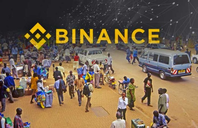 Binance Uganda Hits Record high as 40,000 Traders Sign up in a Week