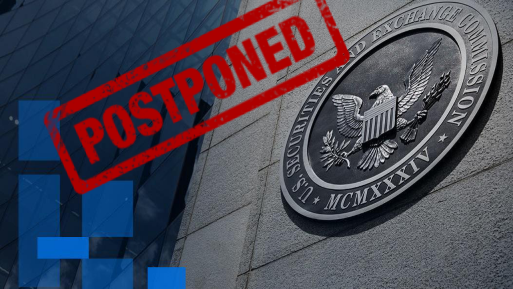 BREAKING NEWS: SEC Postpones Bitcoin ETF Again