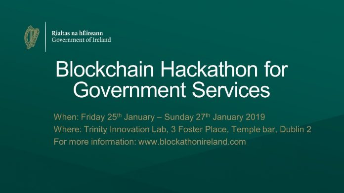 Republic of Ireland Organized Blockchain Hackathon for Public Services