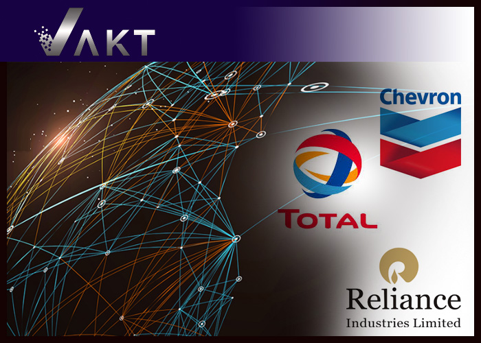 Chevron, Total and Reliance Join Oil Blockchain Platform Vakt